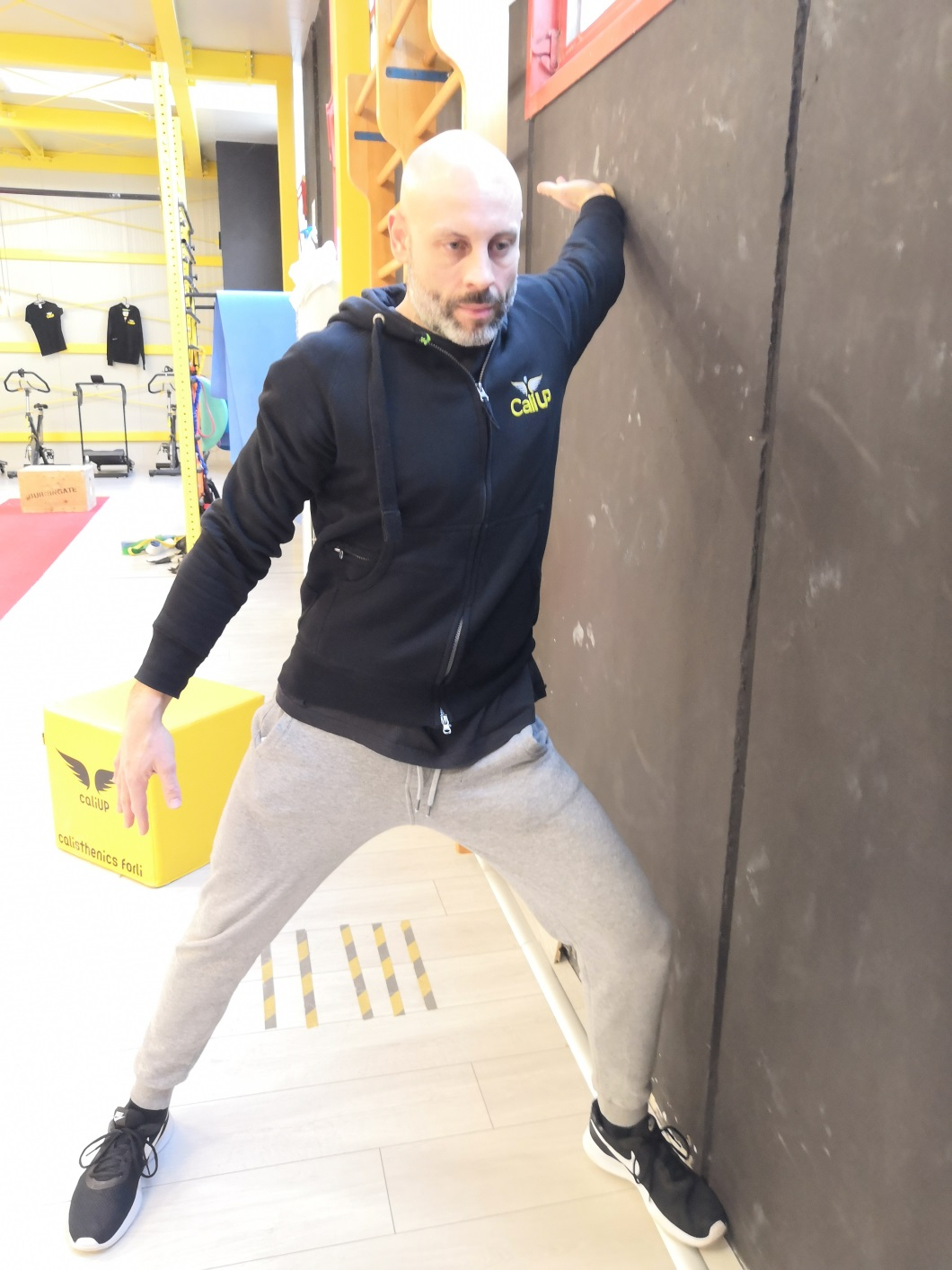 Stretching Calisthenics corpo libero Forlì